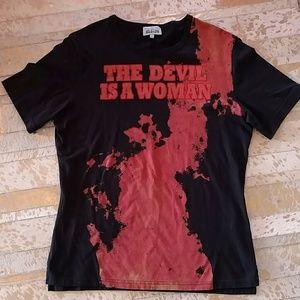 Vivienne Westwood Other - Vivienne Westwood The Devil Is A Woman designer T