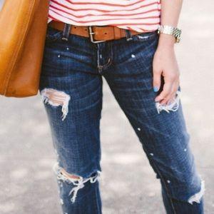 Current Elliott Splashed paint destroyed Jeans