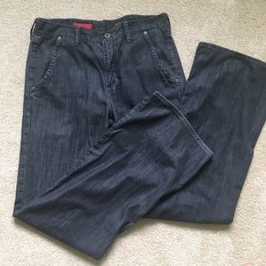 AG Adriano Goldschmied Denim - AG The Flow Jeans -29R charcoal wash