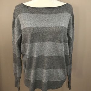 Willi Smith Tops - Women's  Willie Smith gray Shimmer top