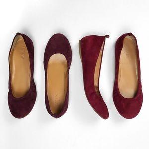 J.Crew Factory Shoes - J.C r e w • A n y a • S u e d e • F l a t s • Sz 6