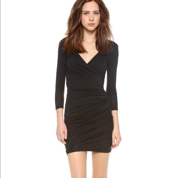 3b98c345d6 James Perse Dresses   Skirts - James perse wrap tuck dress ...
