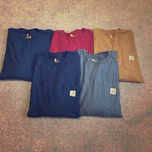 Carhartt Other - 🛑BUNDLE DEAL🛑Men's Carhartt long sleeve shirts