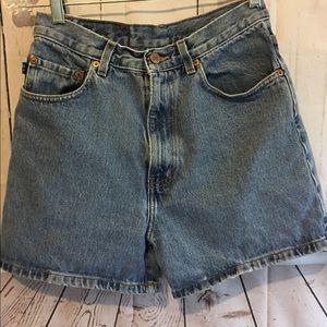 Pepe Jeans Pants - Pepe Essex Jeans High Waisted Vtg Mom Shorts Sz27