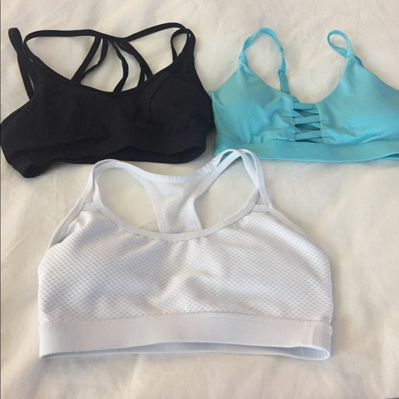 4230b07df Forever 21 Other - Three forever 21 sports bras 2-Xs 1-SM
