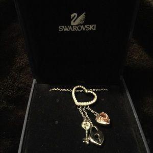 Gorgeous Swarovski Key To My Heart Necklace!