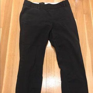 J Crew Minnie size 2 black pants