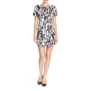 French Connection Record Ripple Dress NWT