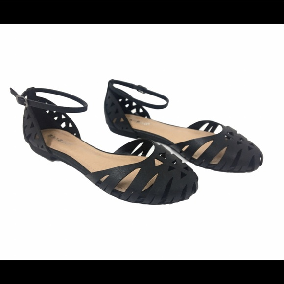 Bamboo Brand Wedge Shoes