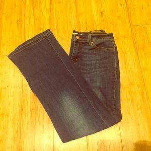 Levi's Dark Denim Bootcut Jeans Size 10