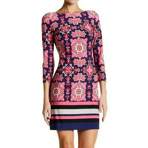 Vince Camuto Dresses & Skirts - NWT, Vince Camuto Patterned Ity T-Body Dress