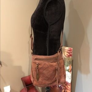 Lucky Brand Leather crossbody!