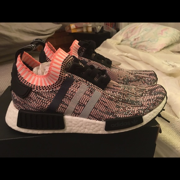Pink Nwt Salmon Bnwt Originals Sneakers r1 Adidas Nmd OPukXiTZ