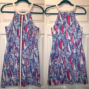 Lilly Pulitzer Dresses & Skirts - Lilly Pulitzer Red Right Return shift size 8 NWOT