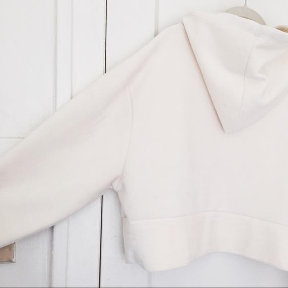 Zara fuzzy boxy hoodie