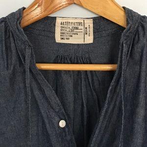 Alternative Dresses & Skirts - Alternative Chambray Lagonlook Dress Medium