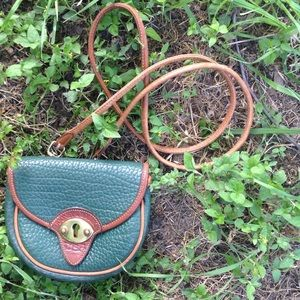 Handbags - Vintage Style Forest Green Crossbody