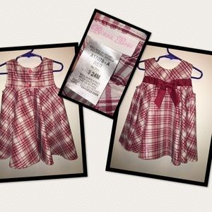 Bonnie Baby Other - Plaid shimmery dress