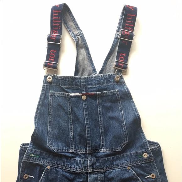 7d4259fe Tommy Hilfiger Jeans | Vintage Overalls Size Large | Poshmark
