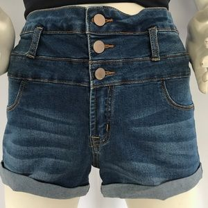 refuge Pants - NWOT High-waisted Denim Shorts