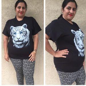 Tops - Tiger print top