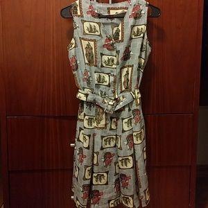 Vintage Dresses & Skirts - Vintage ships print romper