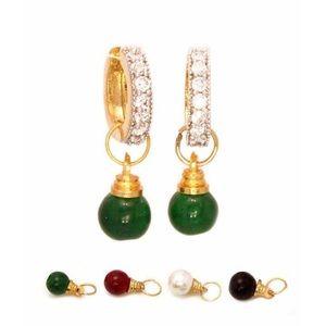 Jewelry - Interchangeable Hoop earrings