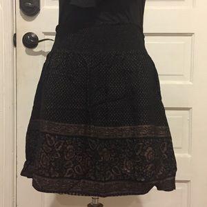 Ecote urban outfitters mini skirt size M