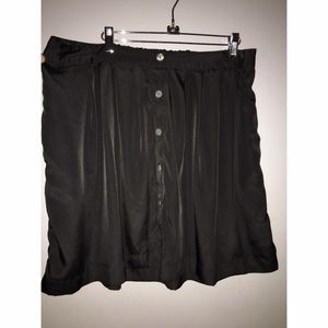Lightweight Black Skirt Sz XXL