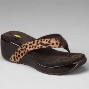 Volatile Shoes - Volatile Animal Wedge Sandal