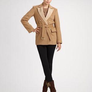 Marc by Marc Jacobs Camel Wool Coat Blazer