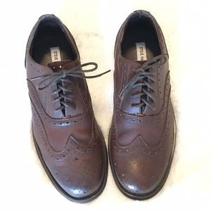 Steve Madden Other - 🆕Men's Steve Madden Brown Leather Wingtip Shoes