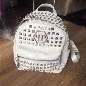 Philipp Plein Handbags - Leather Backpack