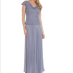 J Kara Dresses & Skirts - Stunning Beaded Cowl Neck Dress!