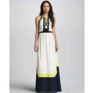 Greylin Dresses & Skirts - Greylin Amanda Colorblock Maxi Dress XS
