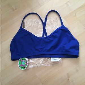 Jolyn Clothing Other - Jolyn Leon Swim Top Blue Blueberry