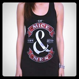 Hot Topic Tops - Of mice and men tank top