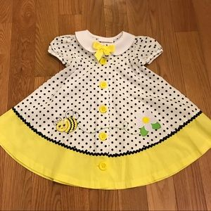 Bonnie Baby Other - Bonnie Baby Bumble Bee Dress 24Months