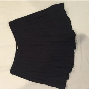 Ecote urban outfitters black skirt size M