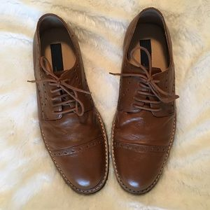 Joseph Abboud Other - 🆕Men's Joseph Abboud Collec Brown Leather Oxfords