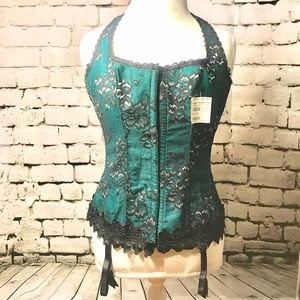 Frederick's of Hollywood Other - NWT Fredericks of Hollywood Shimmer Halter Corset