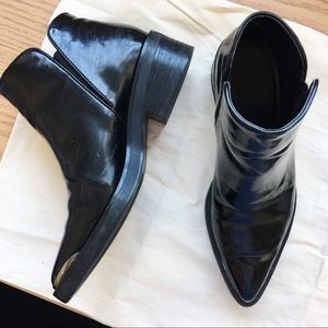 Zara Pointy Toe Ankle Boots