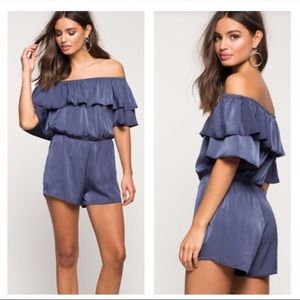 Pants - ❌NO OFFERS❌PAXTON RUFFLE ROMPER