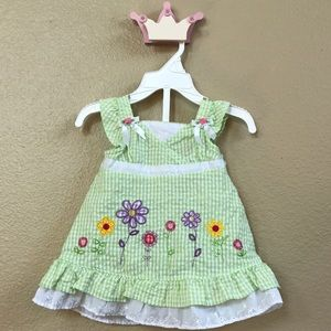 Youngland Other - Youngland green plaid dress.