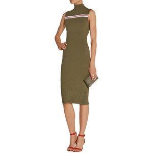SUNO Dresses & Skirts - NWT • SUNO Stretch Knit Backless Midi Dress