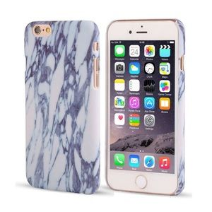 on the edge boutique Accessories - the marble hard phone case
