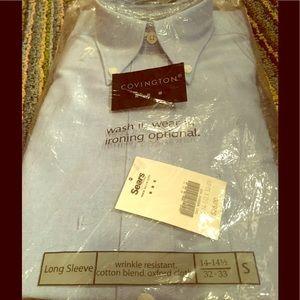 Covington Other - NWT mens casual dress shirt light denim 32-33