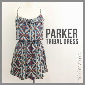 Parker Dresses & Skirts - PARKER • multicolored brick tribal print dress