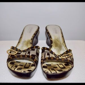 Guess Shoes - Guess sandal wedges