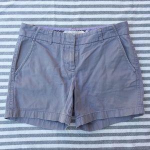 "J. Crew Pants - J. Crew city fit chino shorts grey 5"" size 2"